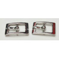 10mm Center Bar Buckle with Nickle Tone