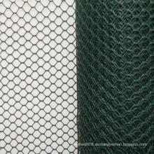 Sechseck-Drahtgeflecht mit PVC-Beschichtung