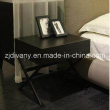 Mesita de noche de estilo moderno dormitorio mueble madera (SM-B26)