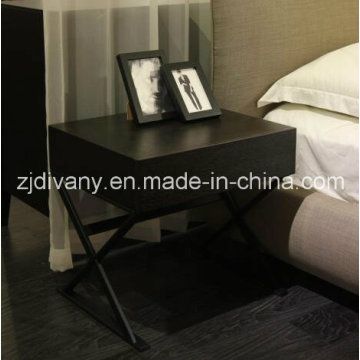 Stand de nuit chambre armoire en bois de Style moderne (SM-B26)