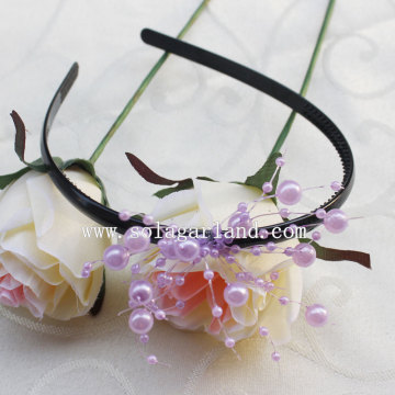 Latest Fashion Elastic Pearl Garland Hairband Accessories