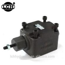 throttle check valve hydraulic instrument fluid