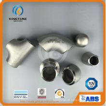 A403 ASTM Bw-Fitting camiseta de acero inoxidable (KT0359)