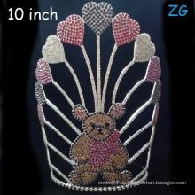 Corona de Tiara por encargo de la tiara coloreada linda del oso
