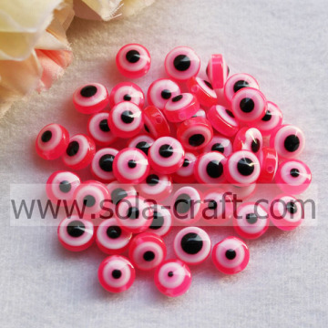 Rose New Large Selection Resin Plastic Round Bead Landing Food Grade Silicone Beads