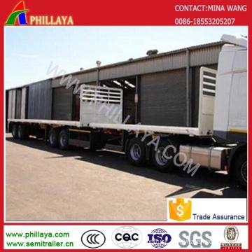 Double Deck Container Super Link Cargo Transport Semi Trailer