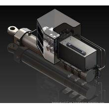 Sistema hidráulico de accionamiento del colector de apoyo
