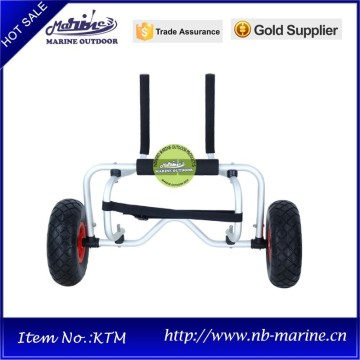 Canoe Kayak Carrier, Folding Aluminum Carrier for Kayak, Hand Trolley Two Wheel