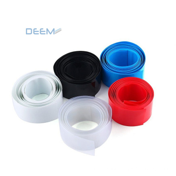 DEEM Low Cost Material Heat Shrink Film Pvc Heat Shrink Tubing for Insulation and Jacketing LOW Voltage Shiny, Matt or Satin T/T