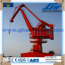 rack luffing mobile portal crane