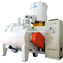 Misturador quente e frio plástico horizontal do PVC