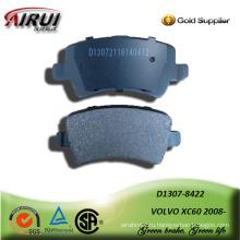 полу металлических автомобилей тормозных колодок для VOLVO XC60 2008-