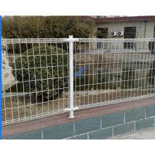 Clôture décorative à double boucle pour piscine