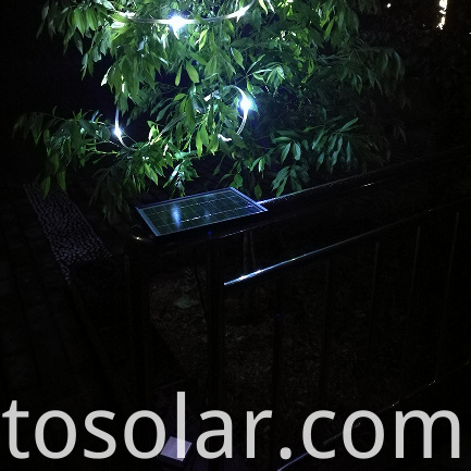 solar power charger for garden light