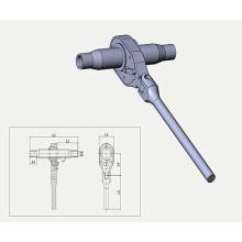Faltgriff Ratchet Spannschraube für Schraubenkompaktor
