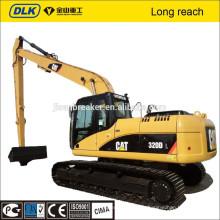 Bras de boom de longue portée pour l'excavatrice hyundai r220, bras long de portée