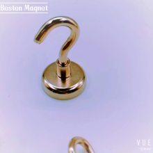 Crochets magnétiques à base ronde Crochets magnétiques