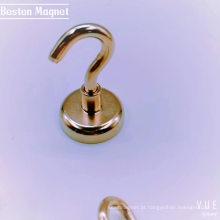 Gancho magnético de 36 mm gancho magnético de neodímio preto