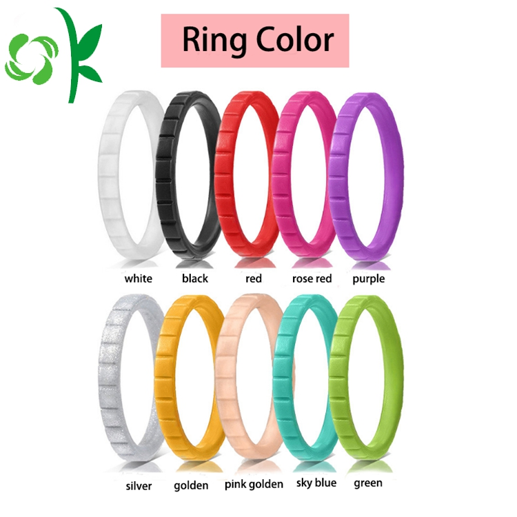 BLACK silicone ring
