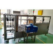 Stainless Steel Case Erector with Hot Melt Glue System
