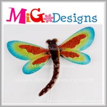 Atacado New Design Metal Dragonfly Wall Decoração
