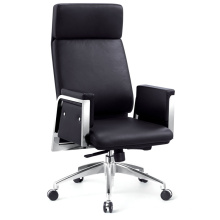 High Back Boss Chair with Top Grade Cow Leather Seating