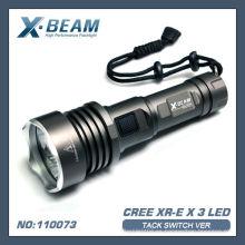 CREE XR-E Q5x3 Linterna LED X-BEAM