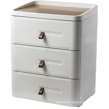 Wooden Cabinet With 3 Drawers For Home Using