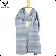2016 moda inverno malha color gradual mudança lenço
