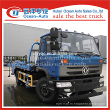 Dongfeng 4x2 brazo oscilante recogida de basura camión