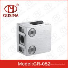 Aço inoxidável Die Casting Glass Clamp para sistema de corrimão (CR-052)
