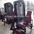 equipo de gimnasio de aumento de pierna comercial Máquina de estiramiento de pierna sentado
