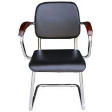 Cadeira de reunião PU preto