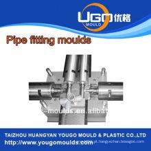 Fábrica de moldes plásticos de bom preço de alta qualidade para o molde de montagem de tubos flexíveis de tamanho padrão em taizhou China