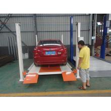 4S Shop Hydraulic Motor 4 Column Parking Platform