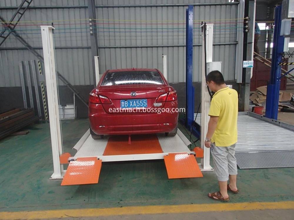 Large Table Size Hydraulic Car Parking System Fixed Scissor Car Lift Platform Used For Garage