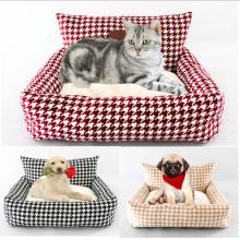 Nid de chat et de chien avec canapé-lit amovible