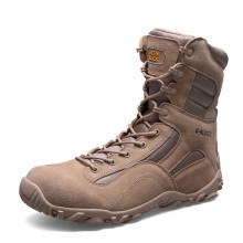 Neue Design Echtleder Wüstenstiefel und Dschungel Taktische Stiefel (31003)