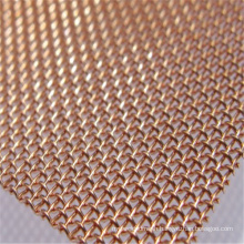 Factory price plain twill weave copper screen mesh emf shielding mesh