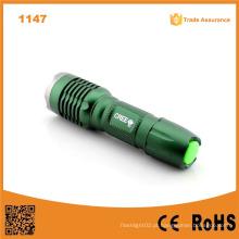 1147 5W 220lumen R2 Lâmpada LED Telescópica Mini Tocha