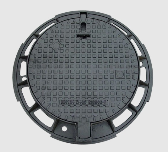 ductile manhole cover CO 650 D400 with hinge