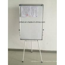 Quadro branco móvel com suporte, quadro branco de aviso, altura ajustável