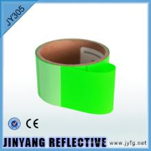 color hi viz reflexivo-transferencia de calor película de hierro en cinta reflectante