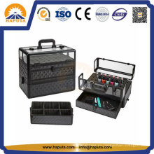Maletín de transporte de esmalte de uñas de aluminio PRO Hb-2301