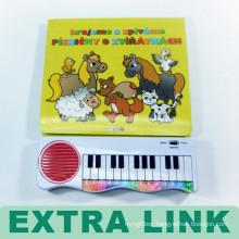 Chinese Custom High Quality Children Music Sound Printing Books