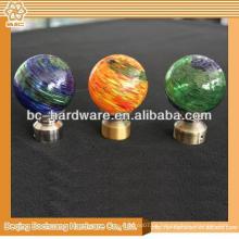 30mm, 40mm, 50mm, 60mm Kristallglas Dekorative Vorhang Finials