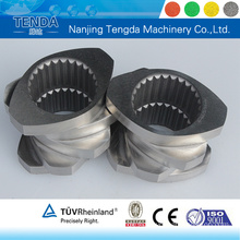 Screw and Barrel for Twin Screw Extruder Machine
