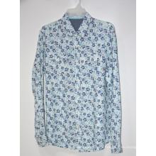 Мужские рубашки Повседневные топы из льняного материала