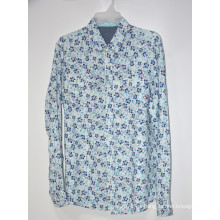 Camisas de hombre Tops informales de material de lino
