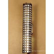Natural Shell Outside Carve Stainless Steel Wall Lamp